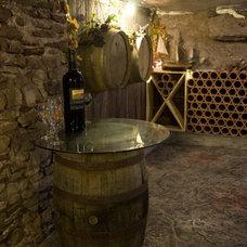 Contemporary Wine Cellar Duane Beckett