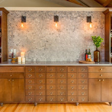 Transitional Wine Cellar by Design Harmony