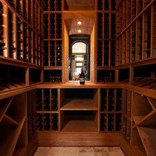 Traditional Wine Cellar by Solaris Inc.