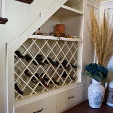 Beach Style Wine Cellar by Viridian Homes