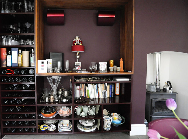 Eclectic Wine Cellar by Beccy Smart Photography