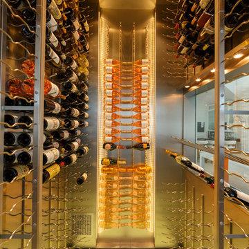 East Quogue,NY Modern Wine Storage
