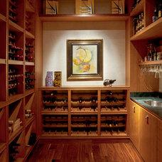 Contemporary Wine Cellar by vgzarquitectura y diseño sc