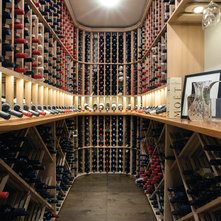 Traditional Wine Cellar by Atkinson Pontifex