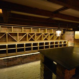 Idées déco pour une cave à vin victorienne.