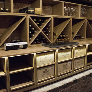 Inspiration for a victorian wine cellar in Surrey.