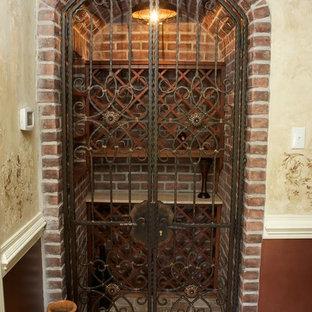 Wine cellar - eclectic wine cellar idea in Philadelphia