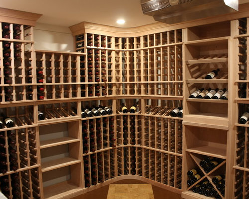 Medium Sized Wine Cellar Design Ideas Renovations