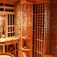 wine cellar by Heritage Vine LLC