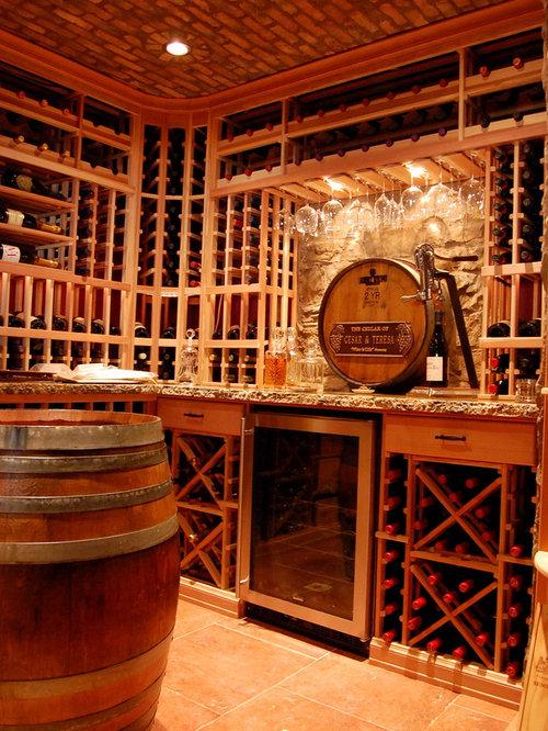 Semi Precious Stone Wine Cellar Design Ideas, Remodels ...