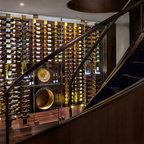 vin de garde custom stainless steel wine cabinet modern wine cellar vancouver by vin de. Black Bedroom Furniture Sets. Home Design Ideas