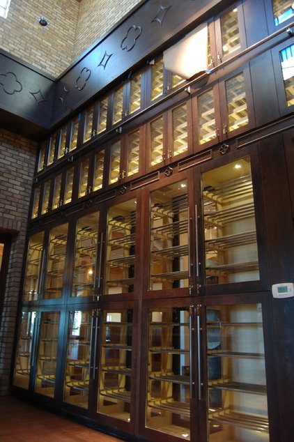 Modern Wine Cellar by Heritage Vine Inc.