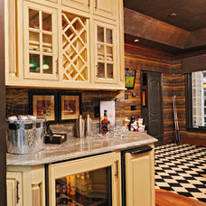 Eclectic Wine Cellar by Steven Paul Whitsitt Photography