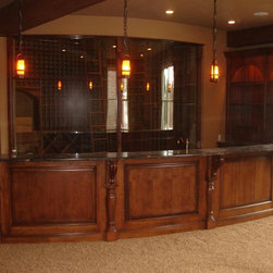 Traditional raleigh wet bar wine cellar design ideas pictures remodel decor Home bar furniture raleigh nc