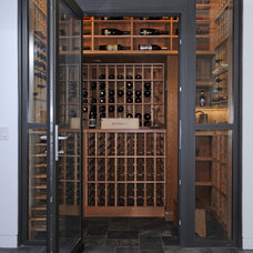 Contemporary Wine Cellar by Andersen Miller Design