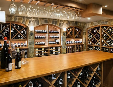 Estate Series Wine Cabinetry by Kessick