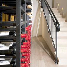 Contemporary Wine Cellar by Yaniv Schwartz - Photographer