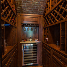 Traditional Wine Cellar by Russell Eppright Custom Homes