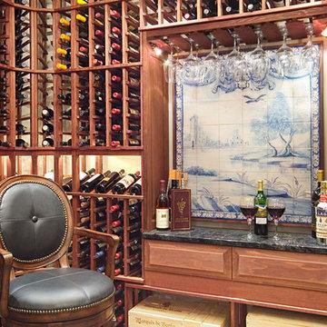 Family Room, Wine Cellar & Gym Addition - Woodinville, WA