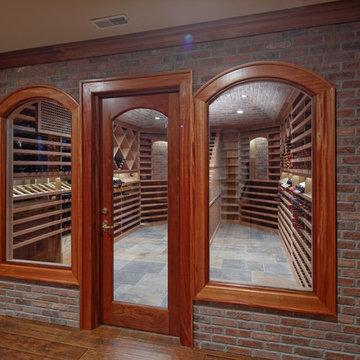 Far Hills, NJ Wine Cellar