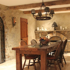 Traditional Wine Cellar by Peterson Renovations Inc.