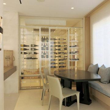 Fisher Island Wine Wall/Room