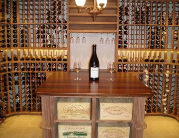 Flatt Traditional Wine Room - St. Louis, MO