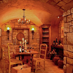 traditional wine cellar by VanBrouck & Associates, Inc.
