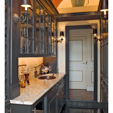 French Country Wet Bar