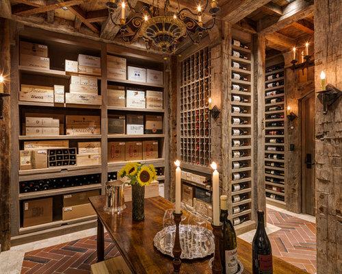 Wine cellar design ideas remodels photos - Design of wine cellar ...