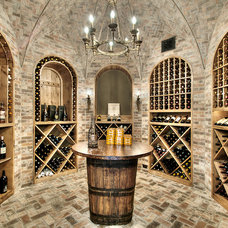 Traditional Wine Cellar by Parker House Inc.