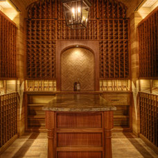 Beach Style Wine Cellar by Gabriel Builders Inc.