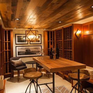 Georgetown Modern Industrial Wine Cellar
