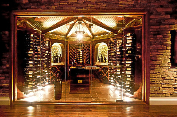 Contemporary Wine Cellar by Wine Cellar Innovations