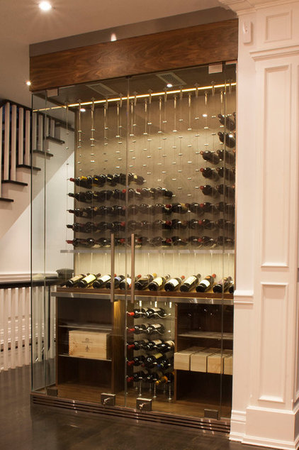 Contemporary Wine Cellar by Papro Consulting - Wine Cellars