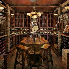 Rustic Wine Cellar by Innovative Wine Cellar Designs