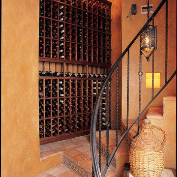 Gorgeous Small Wine Cellar Custom Wine Racking Newport Beach Orange County LA Me