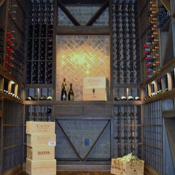 Gorgeous Wine Cellar Design Orange County California