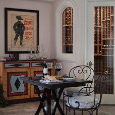 Contemporary Wine Cellar by StoneWood Design, Inc.