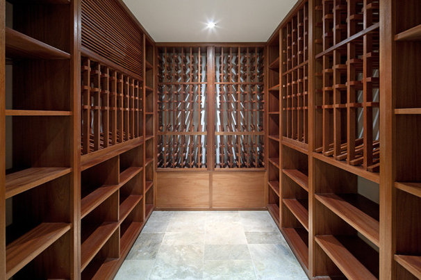 Modern Wine Cellar by TURETT COLLABORATIVE ARCHITECTS
