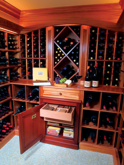 Custom Built-In Cigar Humidor Home Design Ideas, Pictures, Remodel and Decor