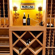Eclectic Wine Cellar by Wynn & Associates