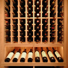 Traditional Wine Cellar by Northcape Design/Build