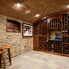 Mediterranean Wine Cellar by Colella Construction Inc.