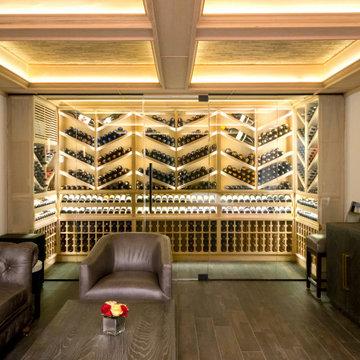 Harrison NY Custom Wine Room