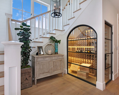 Under stairs wine cellar home design ideas pictures for Cost to build wine cellar