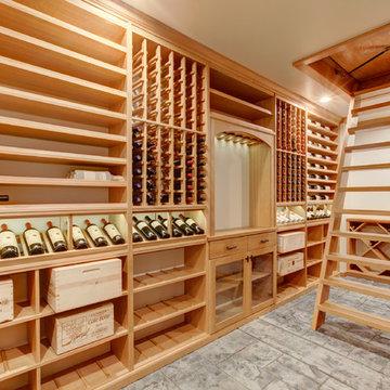 Hidden Entrance Wine Cellar