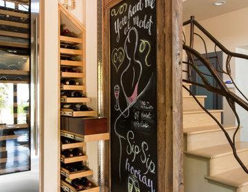 Hidden Wine Storage