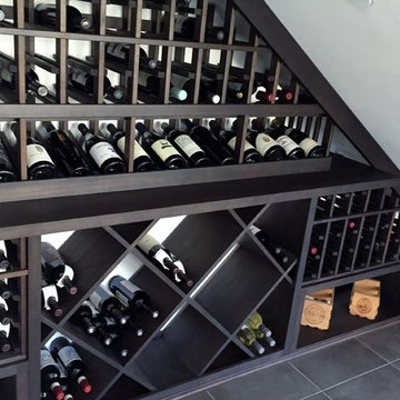 High Reveal Display Row Pitches the Bottles at a 15-Degree Angle California Wine