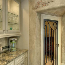Traditional Wine Cellar by Michelle Williams - Inside Story Interiors